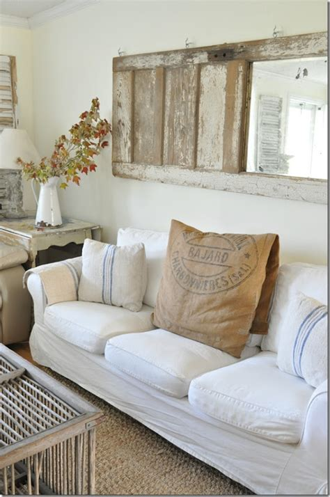decorating with mirrors over sofa 45 comfy farmhouse living room designs to steal digsdigs