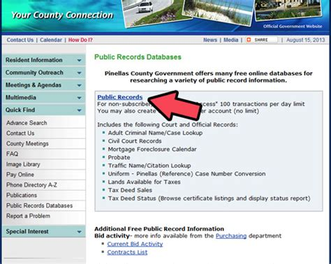 Pinellas County Property Records Search Arrest Record Check Check My Criminal Record How To Tell If Likes You Quiz
