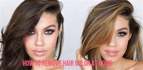 how to remove hair color how to remove hair color at home all for fashions