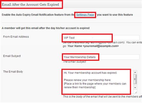 tutorial php send email wp emember plugin email settings mbrsolution