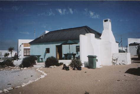 Paternoster Cottages by Paternoster Corrugated Iron Cottages