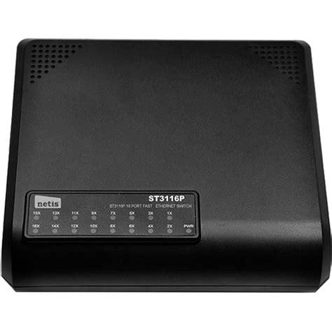 Switch Hub Netis St3116p 16 Port Ethernet Switch Plastic Housting printer