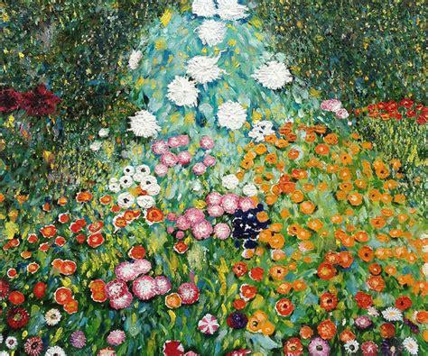 gustav klimt flower garden klimt quot flower garden quot painting farmhouse paintings