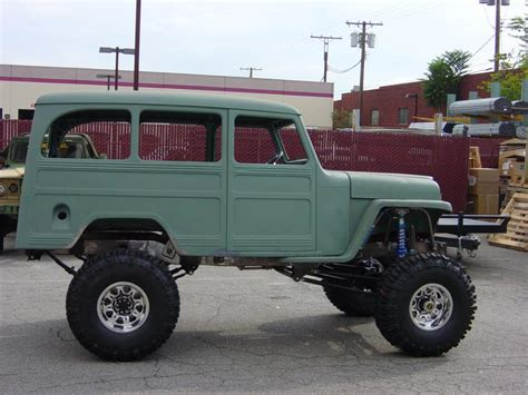 willys jeep pickup lifted 1955 willys pickup information and photos momentcar