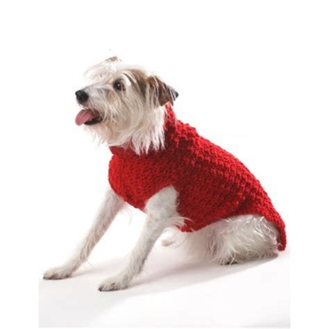 crochet patterns for dog coats free crochet dog coat in bernat super value crochet patterns