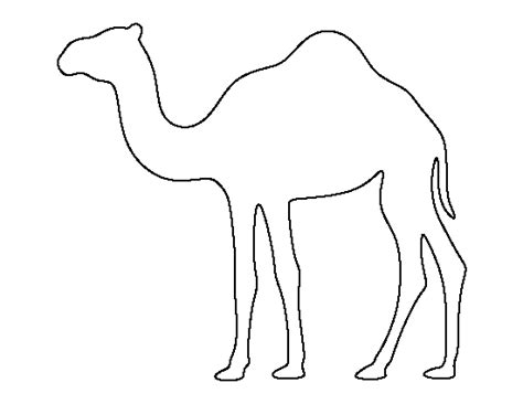 Camel Template by Camel Pattern Use The Printable Outline For Crafts