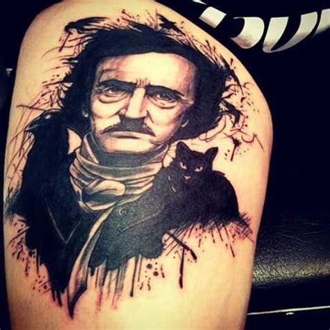 edgar allan poe tattoo best 25 poe ideas on edgar allan poe