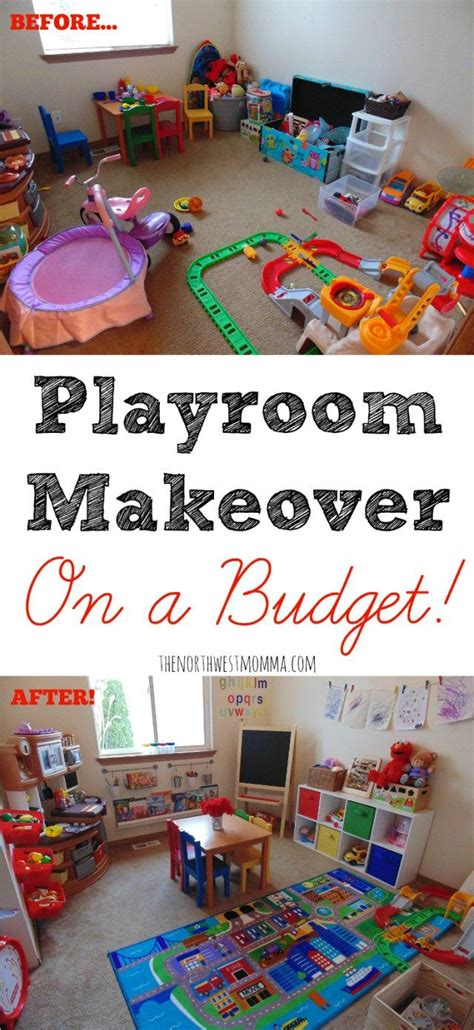 playroom makeover   budget   kiddos playroom