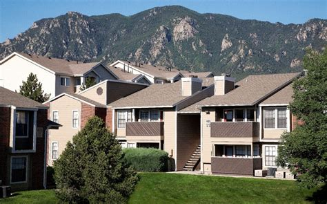 Appartments In Colorado by Fort Carson Colorado Springs Apartments Mountain View
