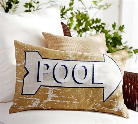 pottery barn indoor outdoor sofa pool sentiment indoor outdoor lumbar pillow pottery barn