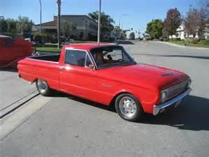 1962 Ford Ranchero 1962 Ford Ranchero For Sale Classiccars Cc 385084