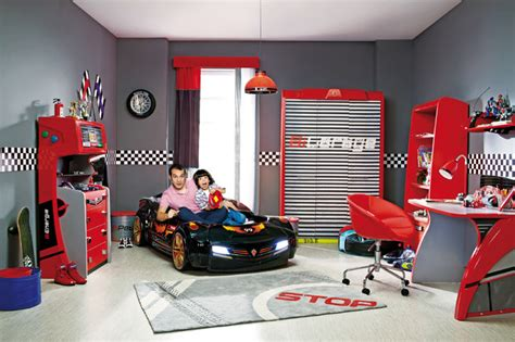 Disney Cars Dresser And Mirror by Car Bed Bedroom Room Modern Miami