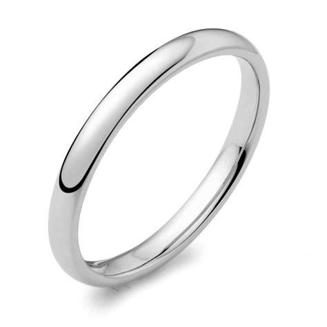 womens platinum mm  shape wedding ring