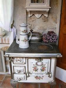 in my kitchen stoves new and vintage