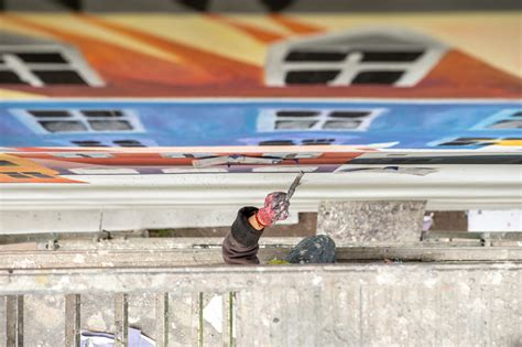 od zdm dla warszawiakow nowy miejski mural na ulicy