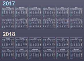 Calendario 2018 Printable Calendar 2017 2018 2017 Calendar Printable For Free