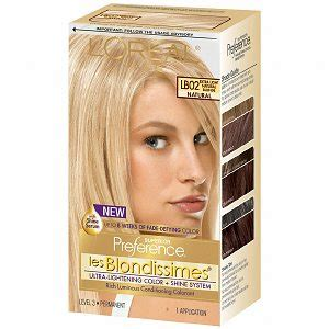 im looking for hair dyes that match loreals healthy hair sweet cherry l oreal preference les blondissimes lb02 extra light