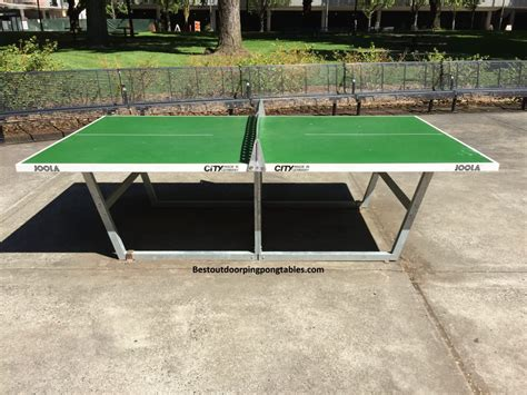 portland oregon outdoor ping pong tables