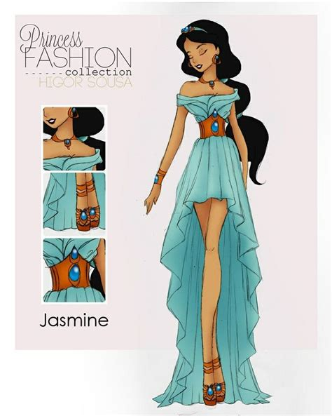 design real clothes disney princess fashion jasmine legacy day dress for the