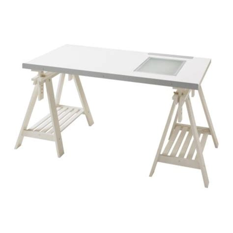 Desk With Light Box by Matthew Would This The Vika Blecket Desk