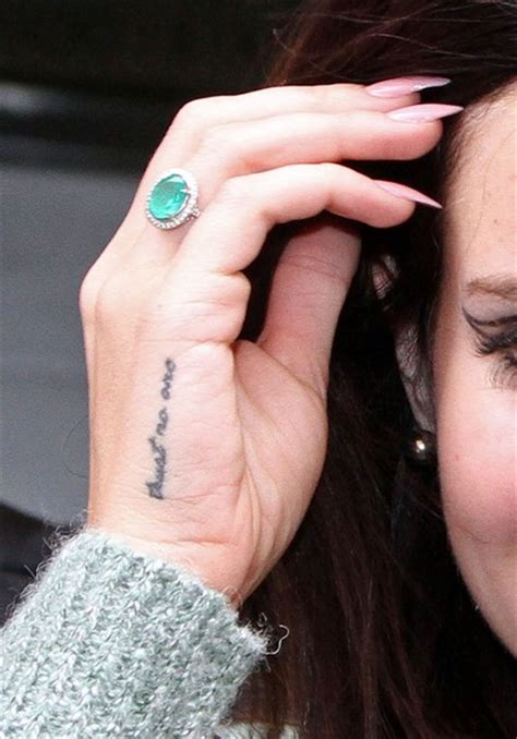 pictures of lana del rey s tattoos impremedia net