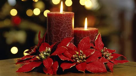 christmas candle wallpaper 268545