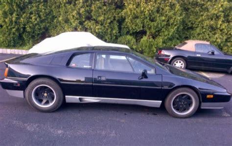 lotus esprit 1988 11k project 1988 lotus esprit turbo bring a trailer