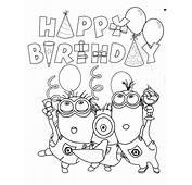 Malvorlagen Fur Kinder  Ausmalbilder Happy Birthday