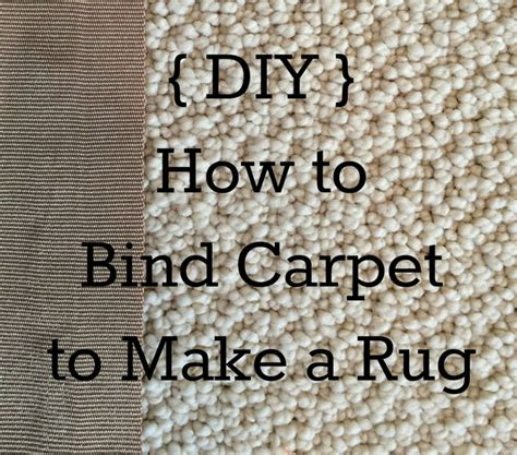 diy rug binding pin by my pinterventures on diy for the home