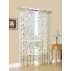 what does light filtering curtain style selections 84 quot antique arcadia sheer curtain the