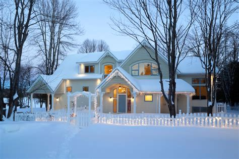 winter homes how to prepare your home for winter