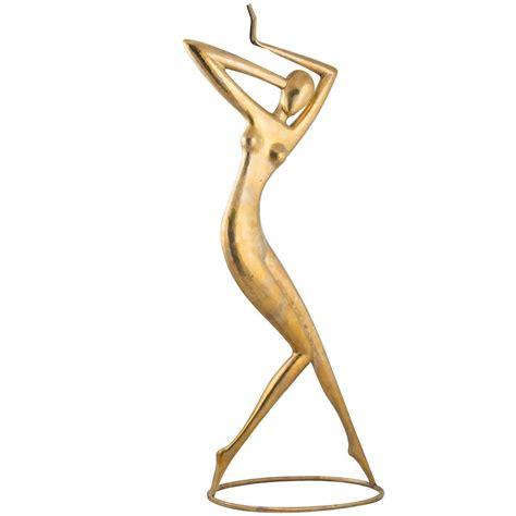 ballerina l for sale karl schmidt quot dancer quot sculpture hammered brass former