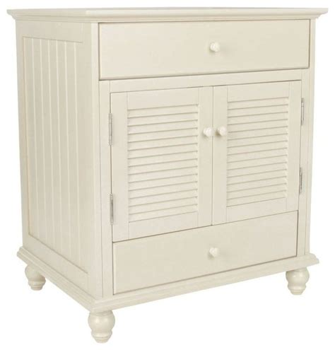 cottage vanity cabinet only antique white 30 quot wx34 quot hx21 5