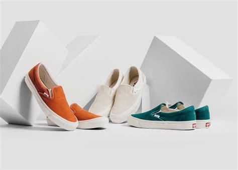 Vans Slip On Checkerboard Gum Limited Stock Premium vans slip on lx suede canvas collection sneakerfiles