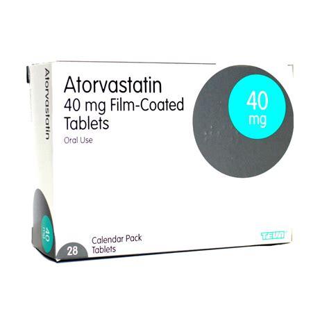 Atorvastatin 40 Mg 40mg atorvastatin 40mg tablets 28 uk 163 27 80 no vat high