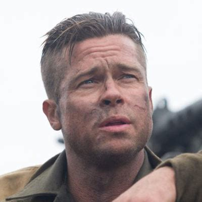 brad pitt s fury haircut a stylish undercut gallery brad pitt fury haircut