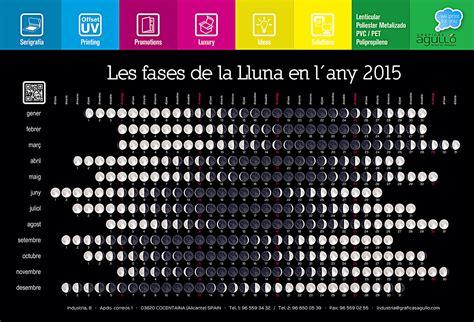 Fases De La Luna 2015 Portada | gr 225 ficas agull 243 impresi 243 n