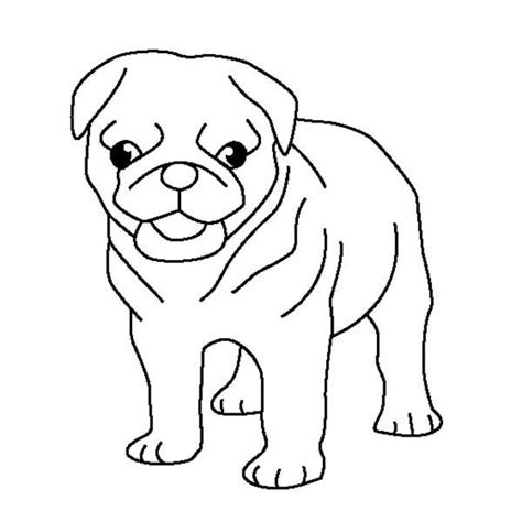 coloring pages of pugs dogs pug pug puppy coloring page coloring 2