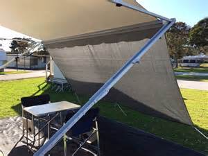 rv awning shade screen 4 0m sunscreen privacy screen sun shade for 14 15