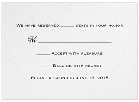 Weddingwire Rsvp by Invitation And Response Card Wording Help Weddings
