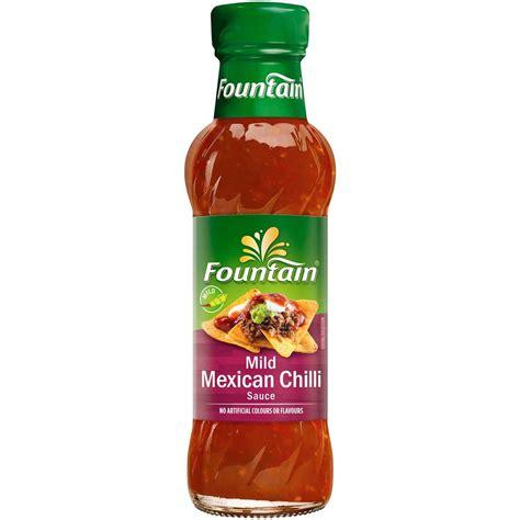 fountain mild mexican sauce 250ml woolworths
