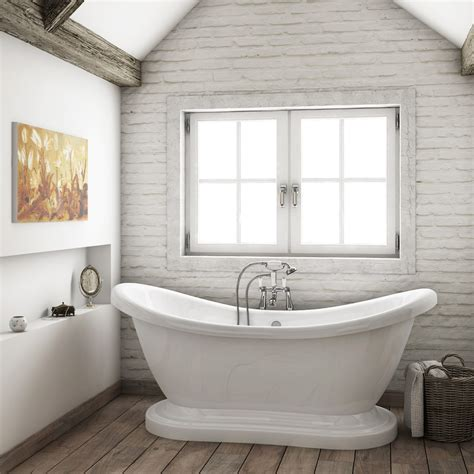 roll top bathrooms oakland 1750 double ended roll top slipper bath