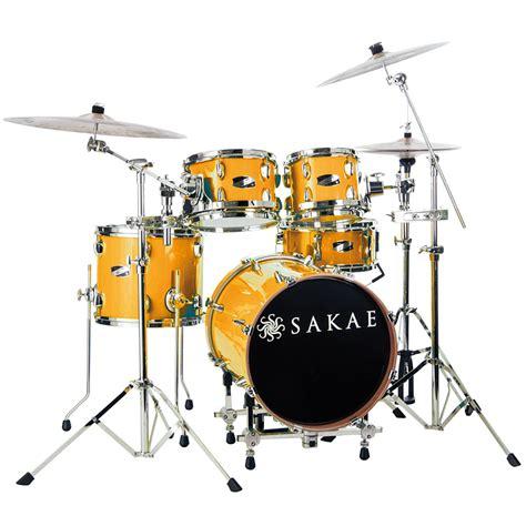 Harga Drum Sakae Pac D sakae pac d compact drumset orange 171 drum kit