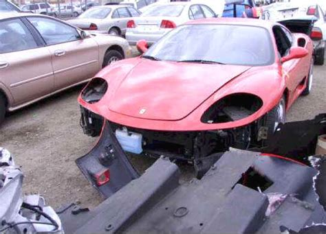 f1 360 modena spider for sale wrecked