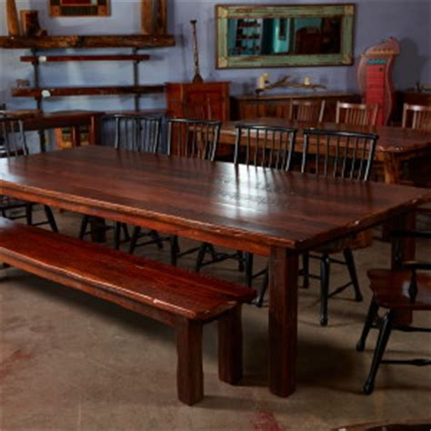 Hawkins Furniture by 10 Leaf Pine Dining Table