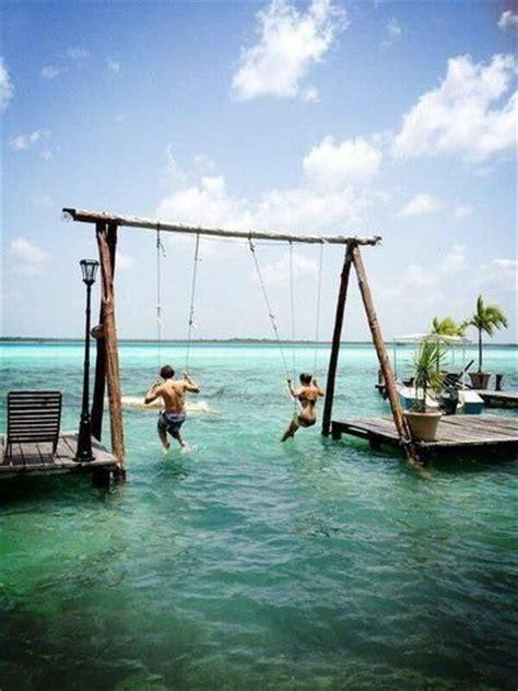 swing travel sea swing bali travel inspiration pinterest
