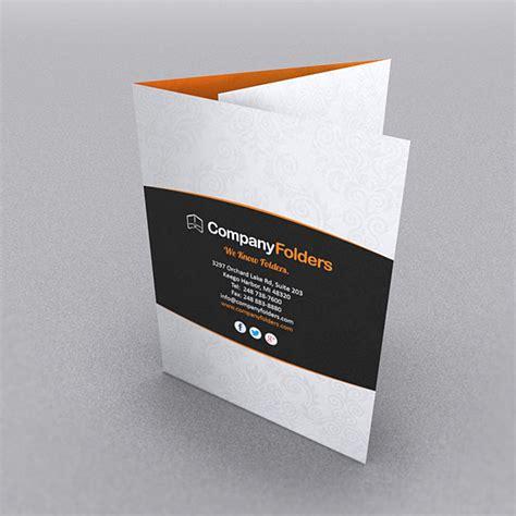 Tri Fold Paper Folder - 9 stylish folder brochure folds for print designers