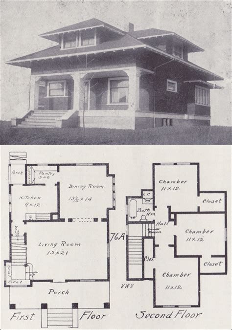 Bungalow Floor Plans Historic | old craftsman bungalow house plans house plans historic