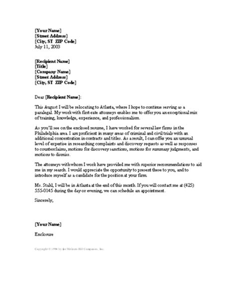 paralegal covering letter paralegal cover letter cover letters templates