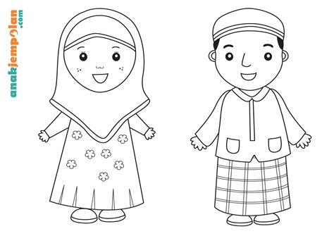 Buku Anak Coloring Robot Gambar Gunting Warnai Ramadhan Activities Anak Jempolan